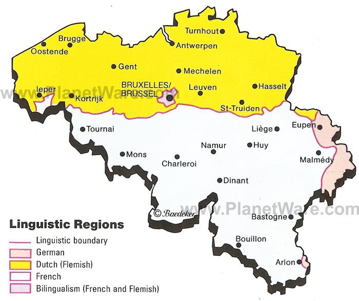 belgium maps regions – Belgium Provinces Map